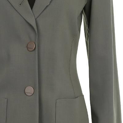 slim line two button jacket